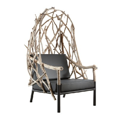 Bleu Nature Chair