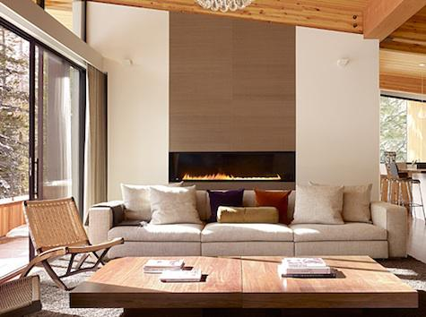 Modern Tahoe Fireplace