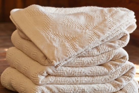 Natural Cotton Blanket