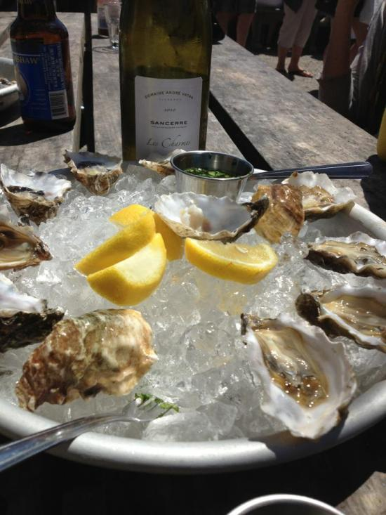 Oysters and Sancerre