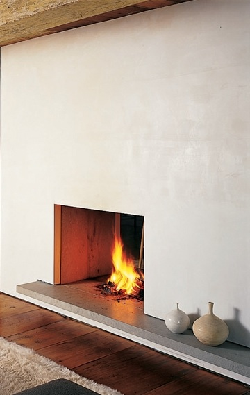 Stone Ledge Fireplace