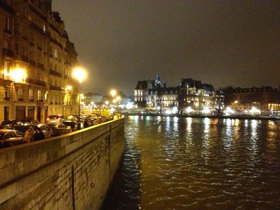 Seine at Night.  Again.