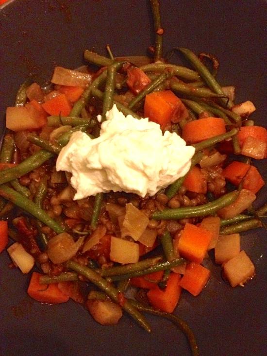 Veggies and Lentils