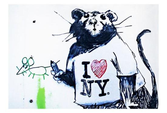 Banksy Rat