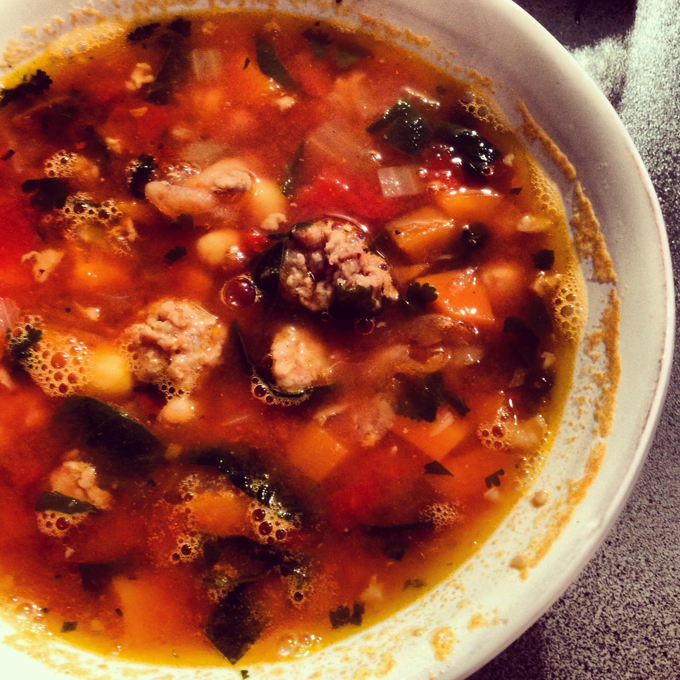 Sausage and Bean Soup « Vanessa Larson