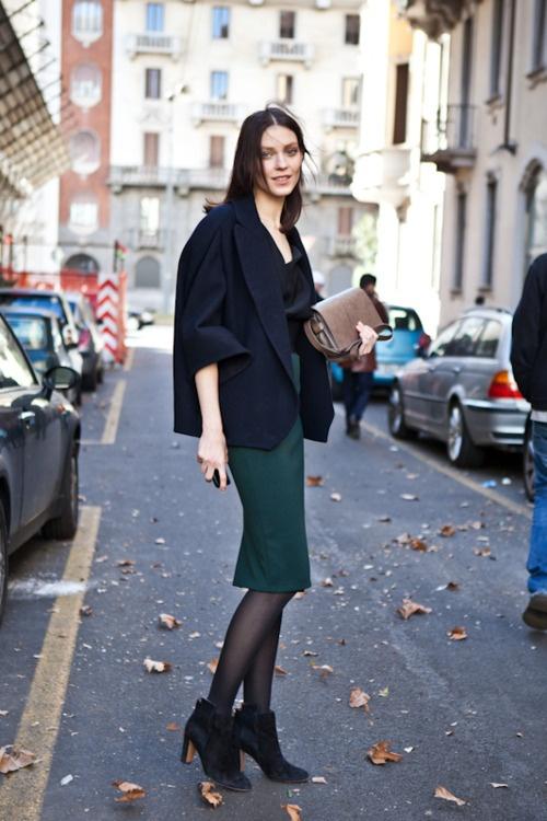 Milan Fashionweek 2012, Dolce Gabbana, Kati Nescher