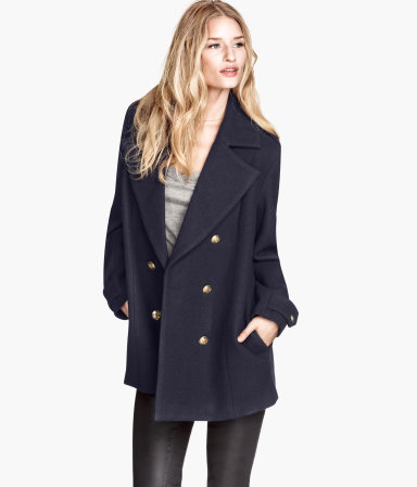 Navy H&M Jacket